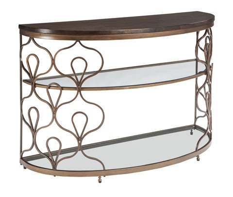 Signature Design Fraloni Sofa Table- Bronze Finish T086-4