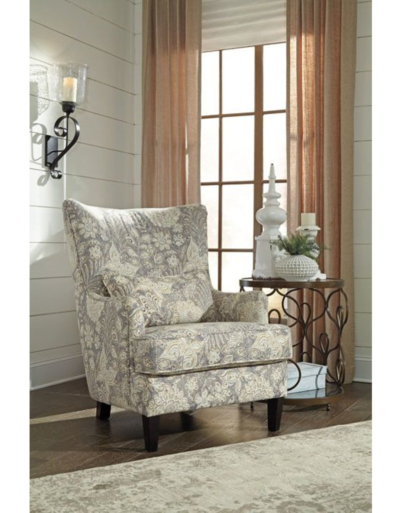 Signature Design Avelynne, Accent Chair, Ocean