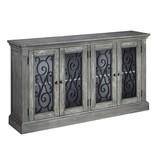 Signature Design Door Accent Cabinet, Mirimyn, Antique Gray