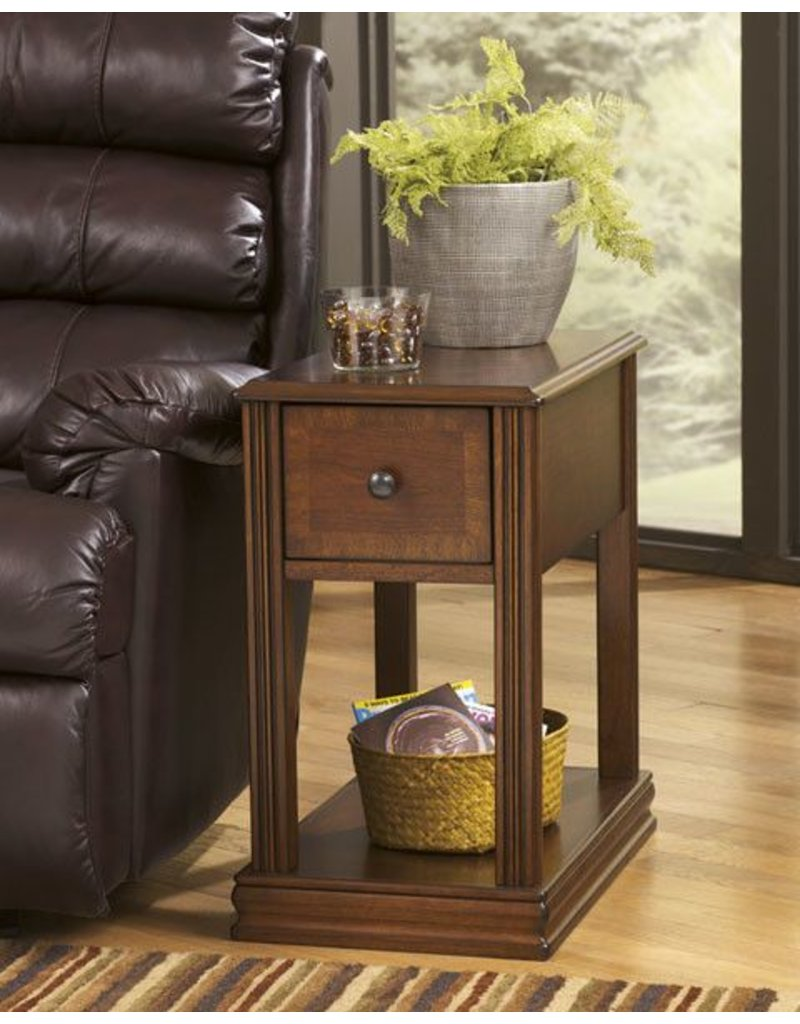 Signature Design Breegin Chair Side End Table - Brown