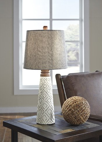 Signature Design Curis Paper Table Lamp (2/CN) L235564