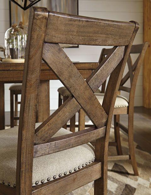 Moriville Upholstered Barstool  - Gray