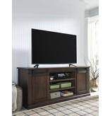 Signature Design W562-68 Large, Budmore Barn Door TV Stand
