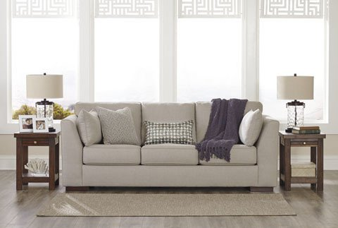 Signature Design Lainier Sofa - Alloy