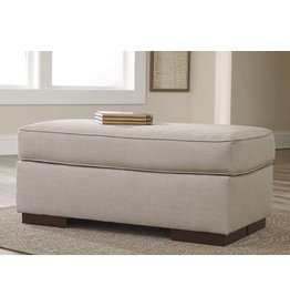 Signature Design Lainier Ottoman - Alloy 5420214