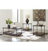 Signature Design Kalmiski- Occasional Table Set of 3, Dark Brown