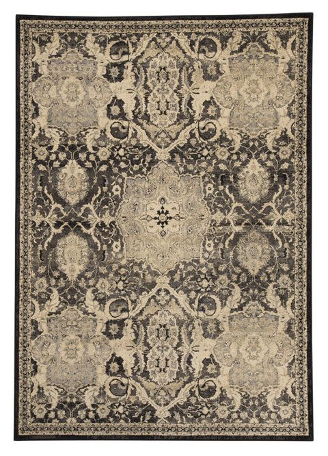 Anzhell Medium Rug - Black