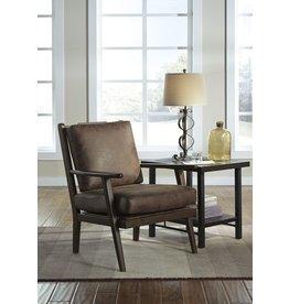 Signature Design Tanacra Accent Chair, Tweed