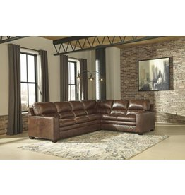 Signature Design Gleason, 2 piece Sectional with corner wedge, canyon color 1570349, 1570366