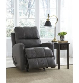 Signature Design Rocker Recliner, Gulf Bay, Charcoal  4470025