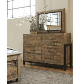 Signature Design Sommerford Bedroom Mirror - Brown