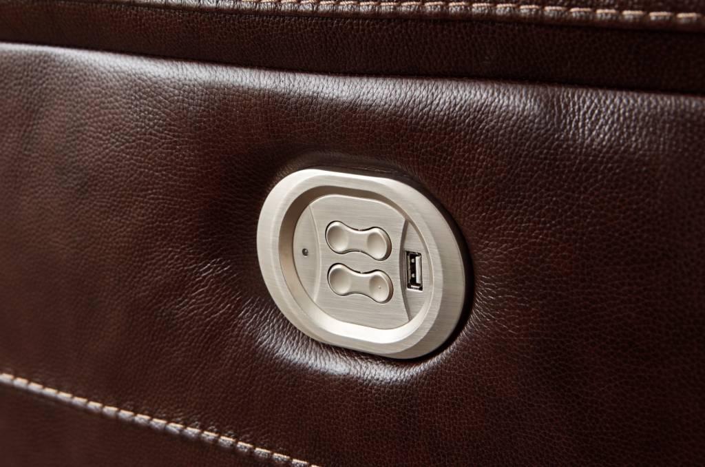 Signature Design Wyline- PWR Recliner/ADJ Headrest, Coffee 7170113