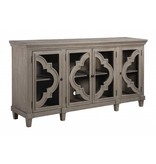 Signature Design Door Accent Cabinet, Fossil Ridge, Gray