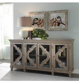 Signature Design Door Accent Cabinet, Fossil Ridge, Gray A4000037