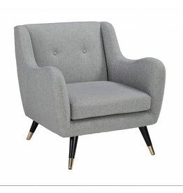 Signature Design Menga Accent Chair, Ash