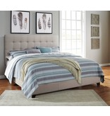 Signature Design Contemporary Upholstered Beds King Upholstered Bed - Cream B130-582