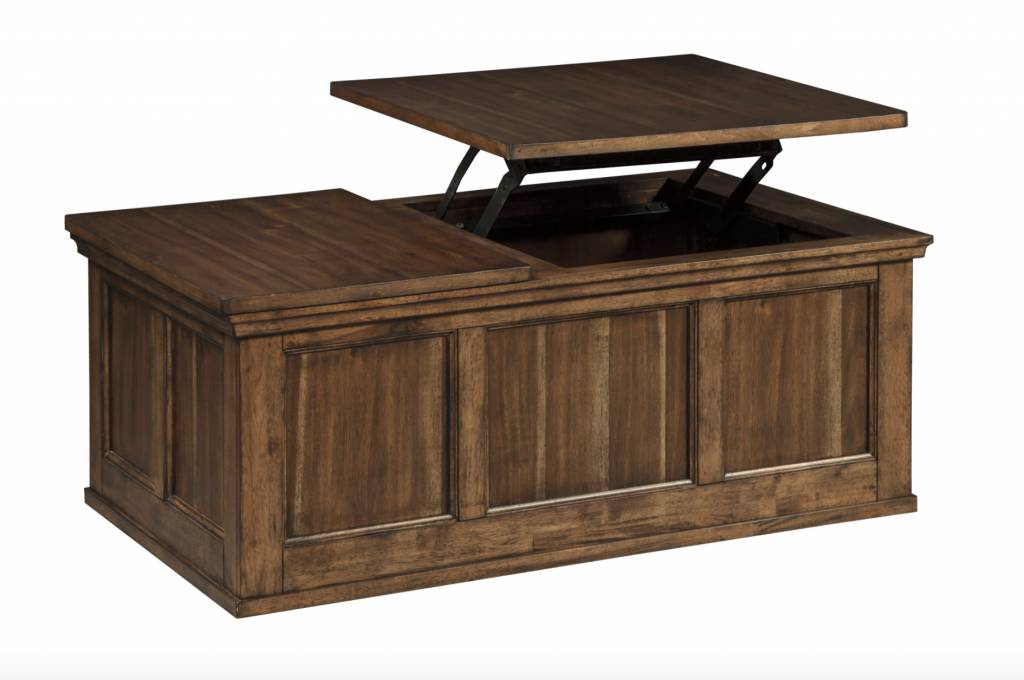 Signature Design Flynnter, Lift Top Cocktail Table, Medium Brown T919 9 ...