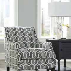 Signature Design Gilmer Accent Chair - Gunmetal