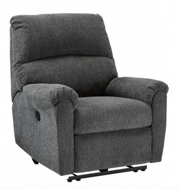 Signature Design McTeer Power Recliner, Charcoal- 7591006