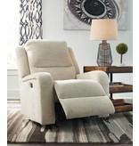 Signature Design Krismen, Power Rocker Recliner w/ Adjustable Headrest- Sand 7810313