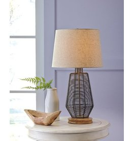 Signature Design Artie Metal Table Lamp (1/CN) - Natural L207114