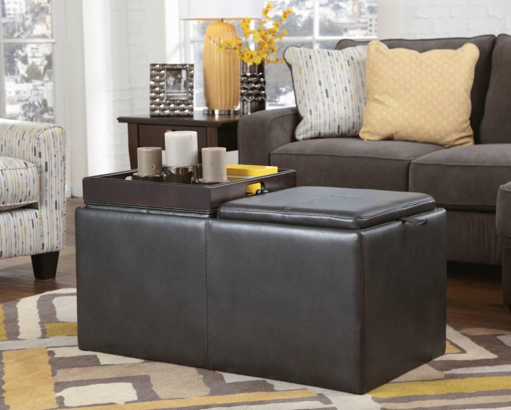 Signature Design Hodan Sofa Chaise Marble