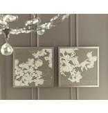"""Signature Design Baibre Wall Art Set (2/CN) - Cream/Taupe 29.13"""" X 29.13"""""""