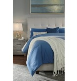 Signature Design Contemporary Upholstered Beds Queen Upholstered Bed - Cream B130-581