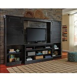 Signature Design Sharlowe 4 Piece Entertainment Center-Charcoal W635-30-134(2)-136