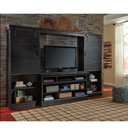 Signature Design Sharlowe 4 Piece Entertainment Center-Charcoal W635-30-134(2)-136
