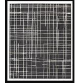 Signature Design Jai- Black and White Medium Rug R403132
