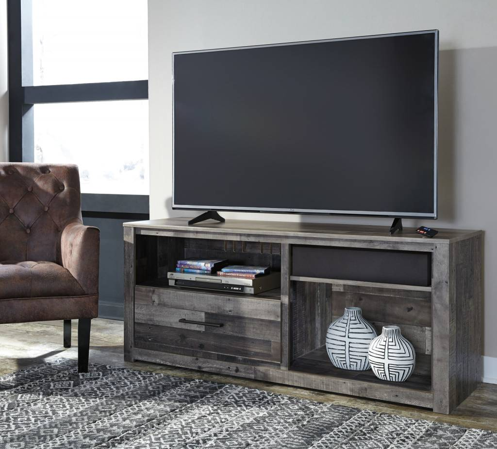 Merveilleux Benchcraft Large TV Stand W/ Fireplace Option  Derekson W200 68 ...