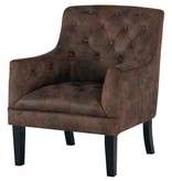 Signature Design Drakelle Accent Chair- Mahogany, A3000051