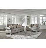 Signature Design Olsberg Loveseat Steel Gray 4870135