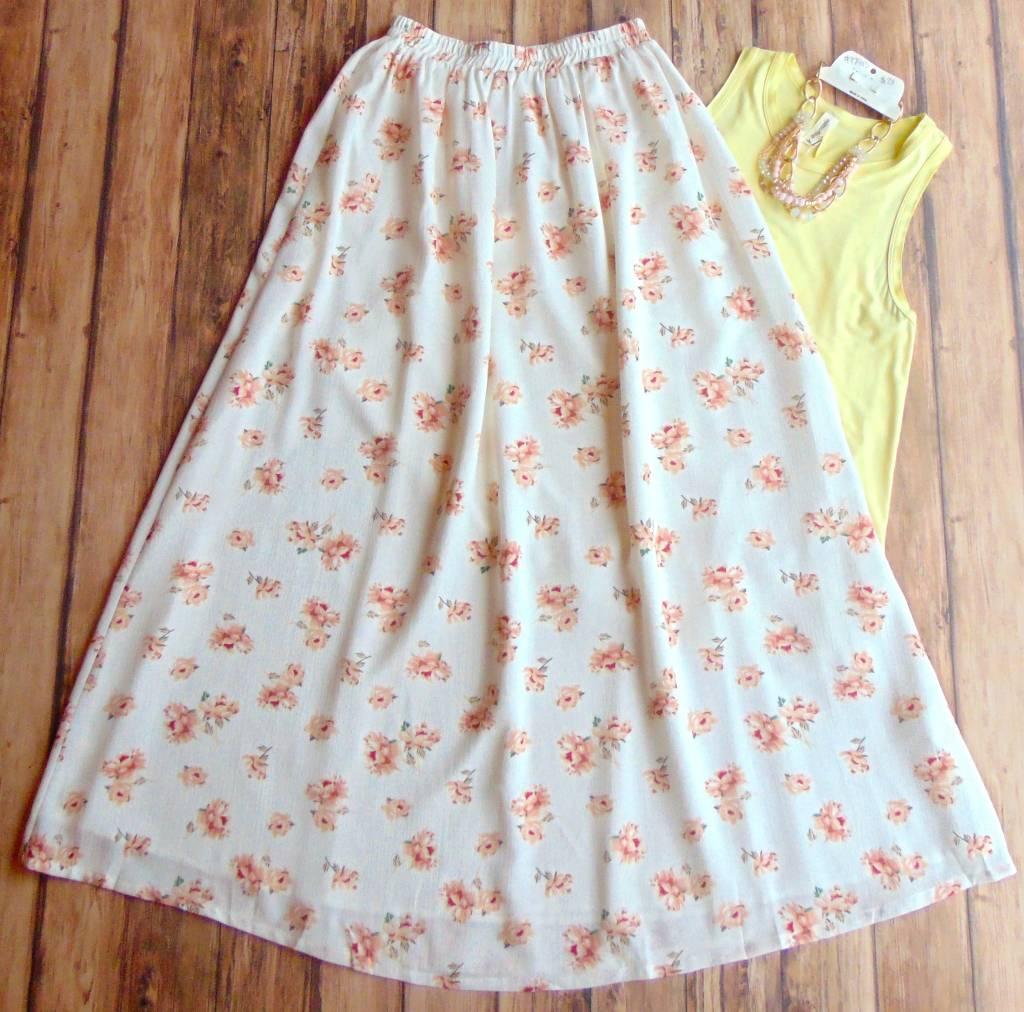MIKAROSE Fierce and Flowing Maxi Skirt