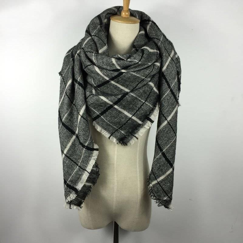 English Classic Blanket Scarf