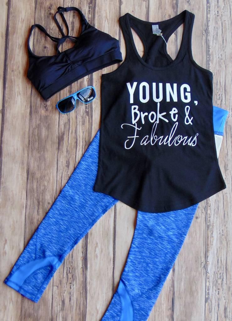 Young, Broke, & Fabulous Tank