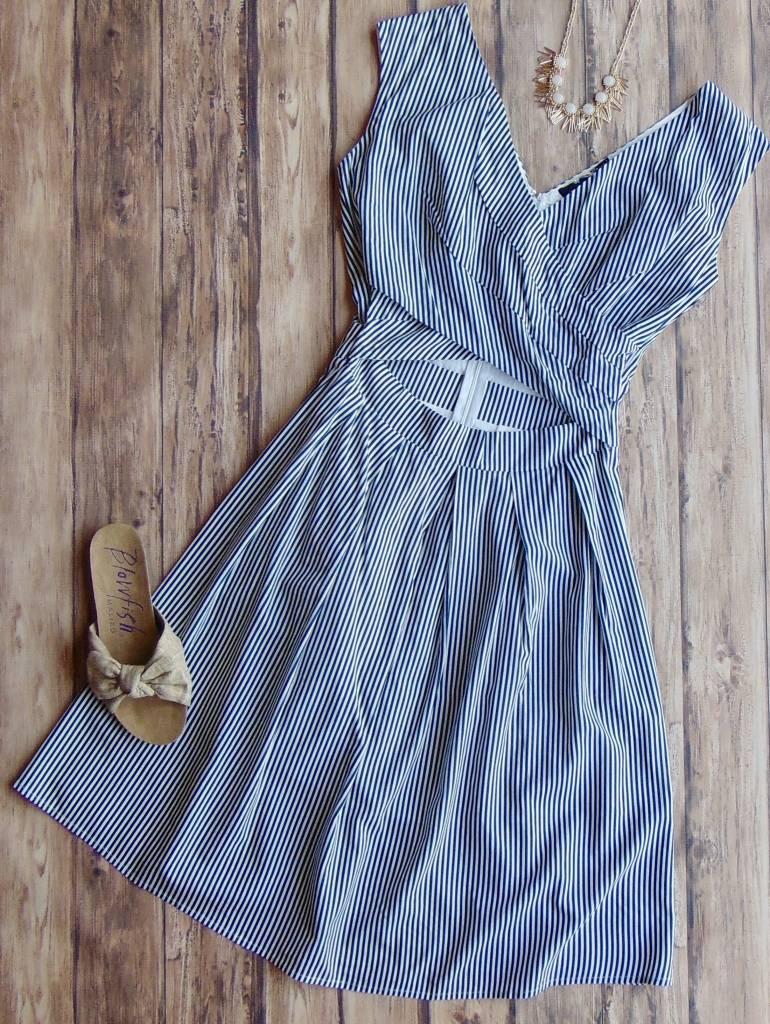 Take It Easy On My Heart Cutout Dress