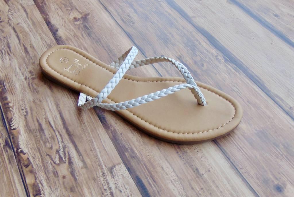 Double Braid Thong Sandal
