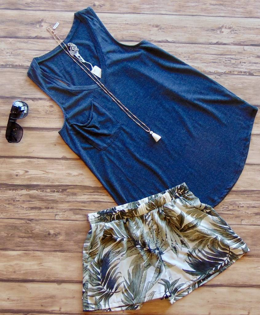 Perfection in Palms Shorts