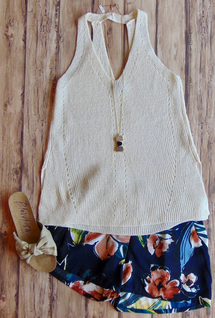 Sing and Dance Knit Tank Top