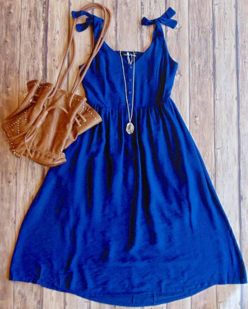 Singing All Summer Long Midi Dress