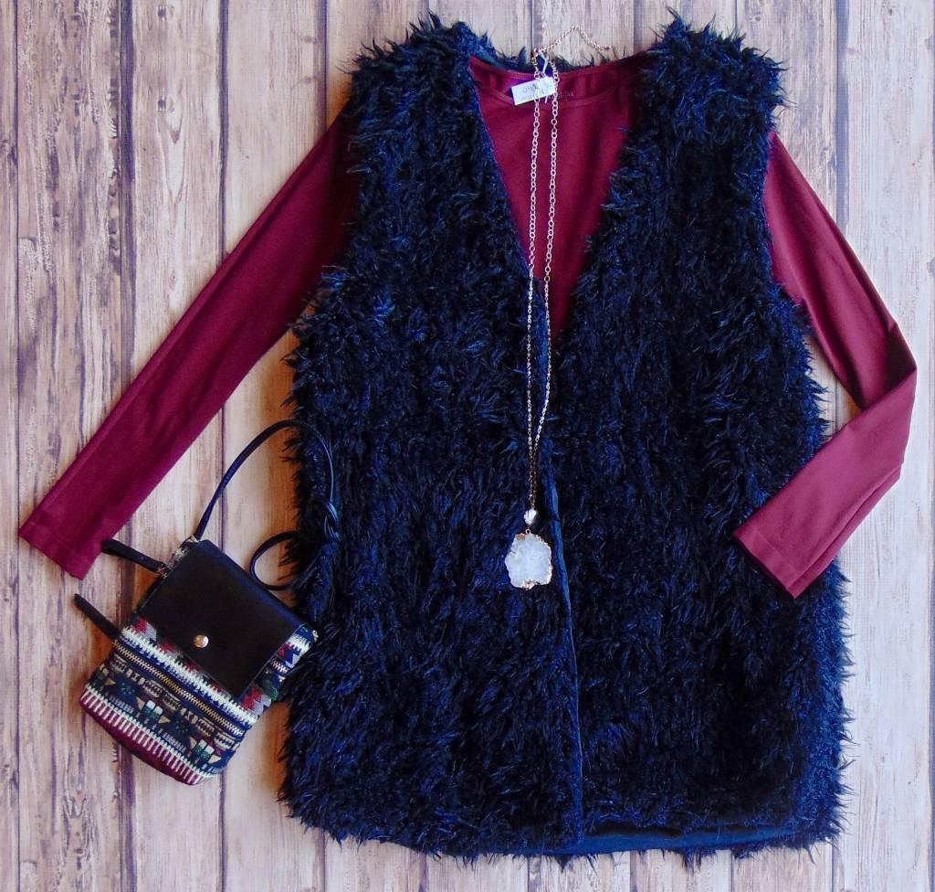 The Halton Fur Vest