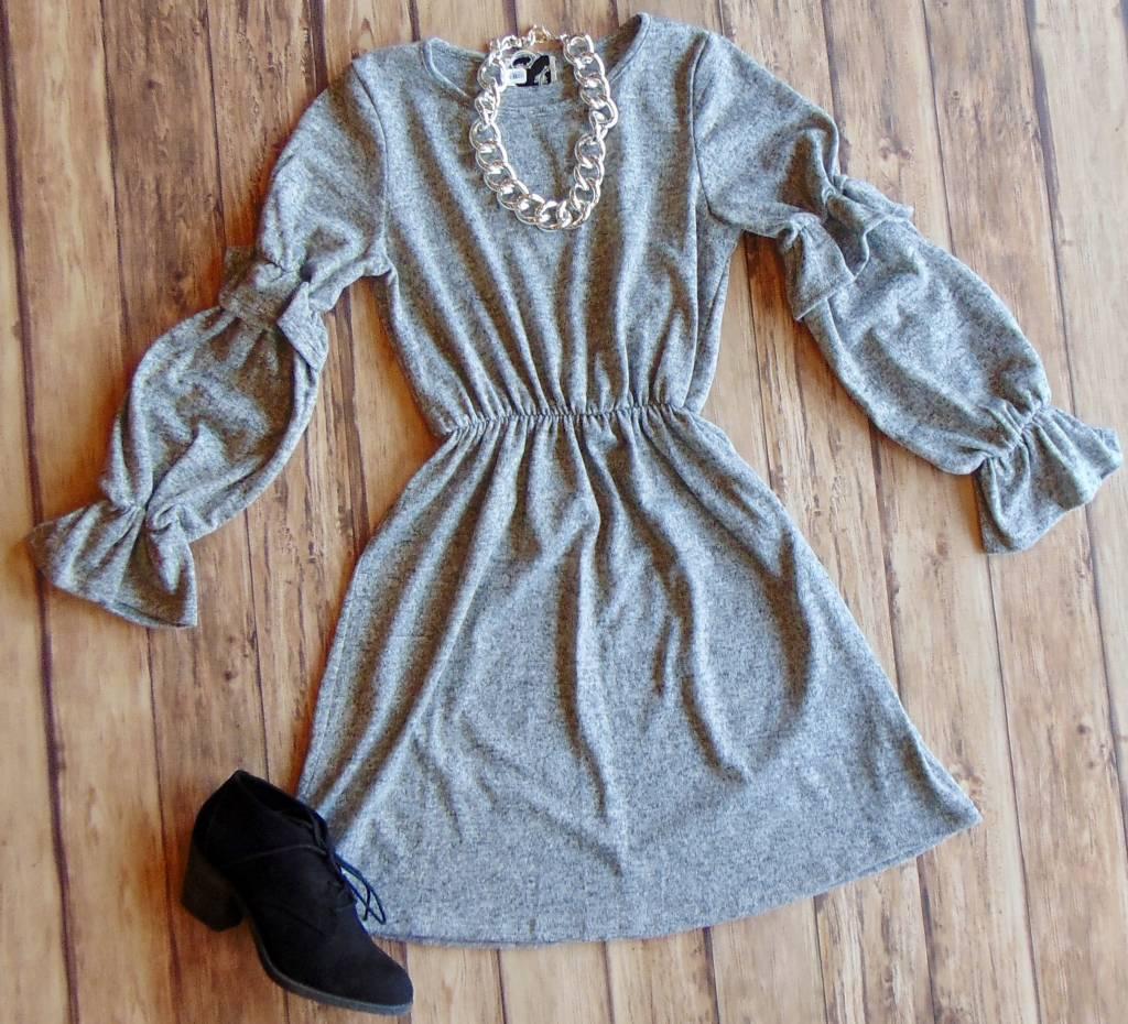 Because I'm Happy Knit Dress