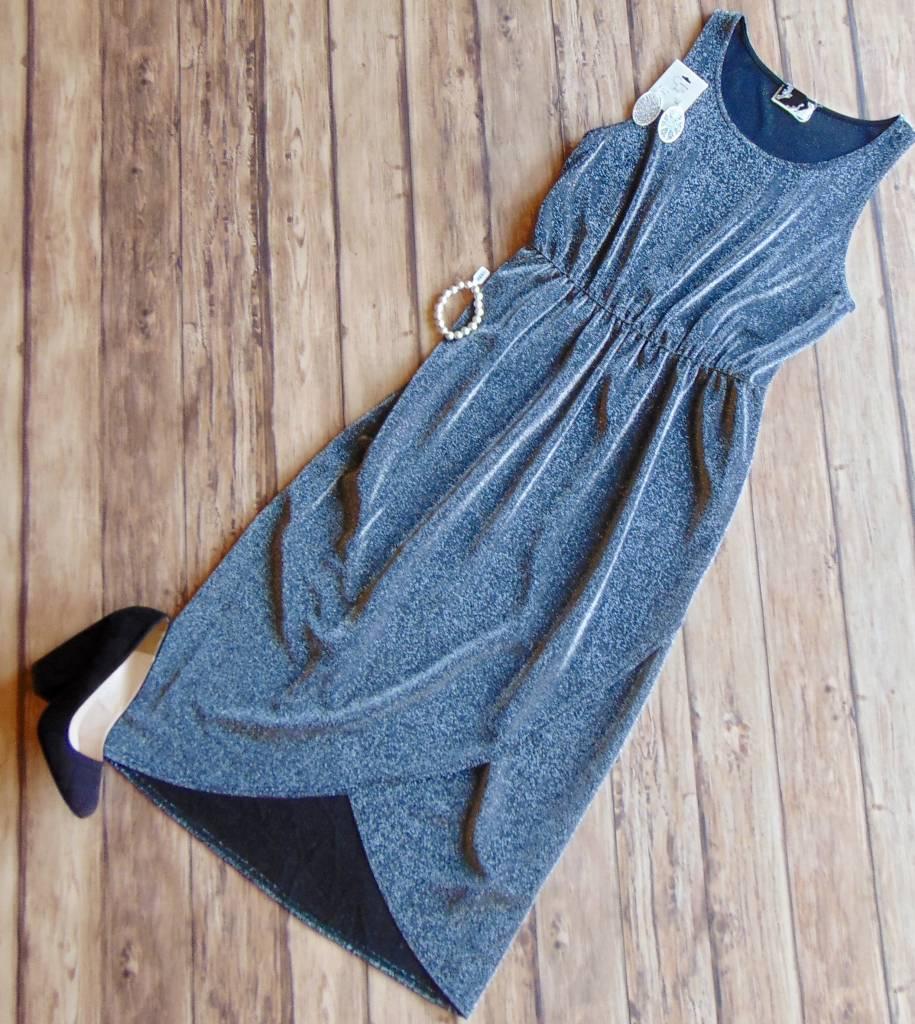 Shimmer and Shine Midi Dress