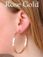 Flat Out Hoop Earrings