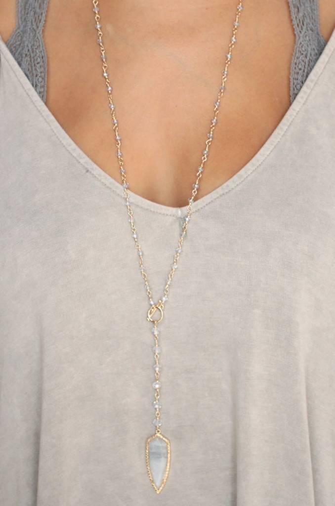 Ansley Arrowhead Necklace