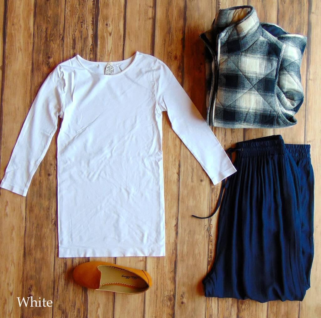 Seamless 3/4 Length Sleeve Top