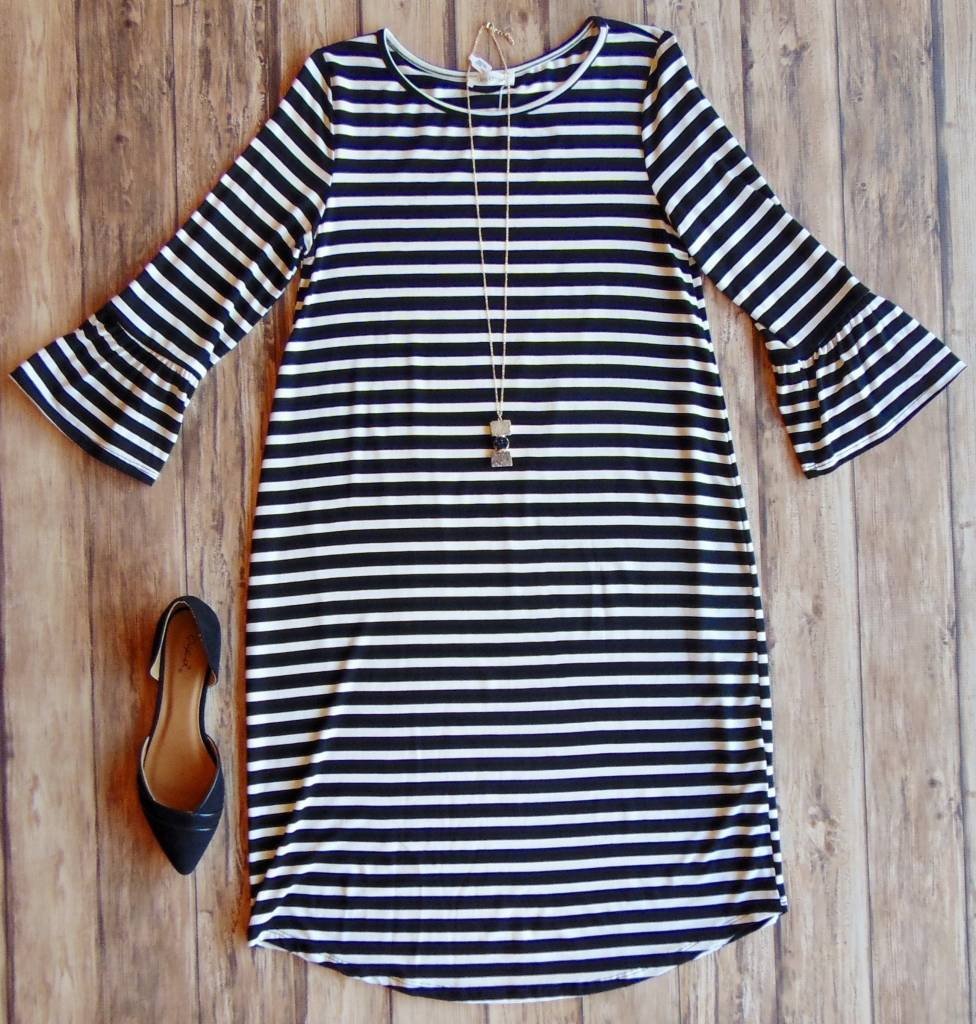 Sweet On You Striped Tunic