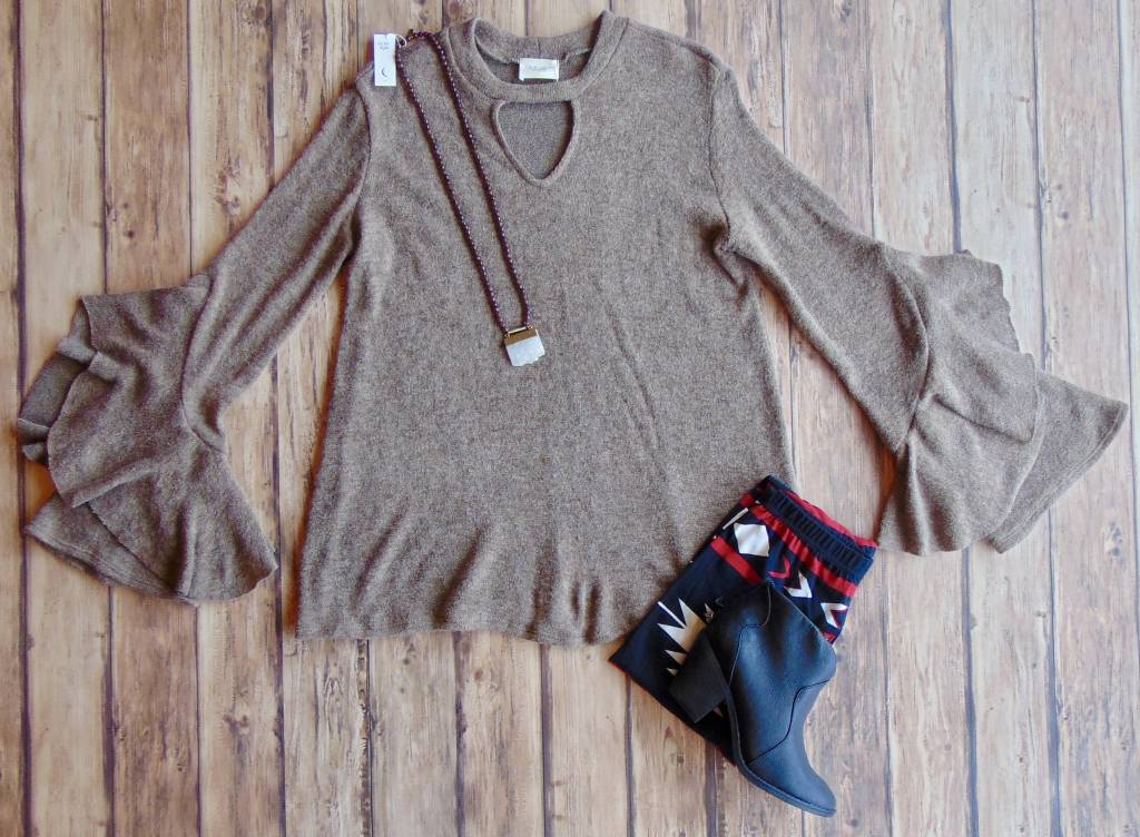 Sunsets and Cider Knit Top